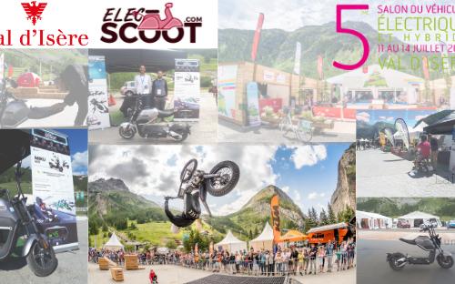 Salon du véhicule électrique de Val d'Isère 2019